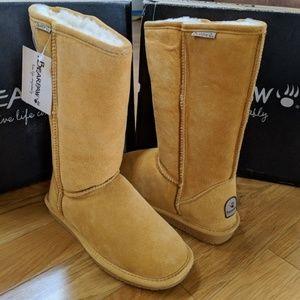Bearpaw Emma Tall Boots (Ugg) Dark Honey Womens 7